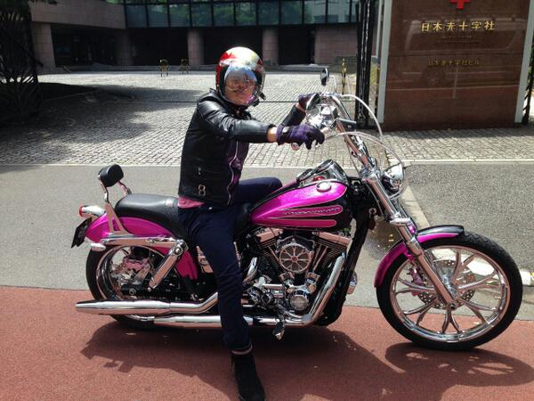 スピードワゴン井戸田バイク