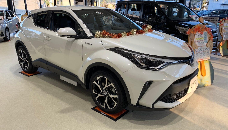 C-HR展示車