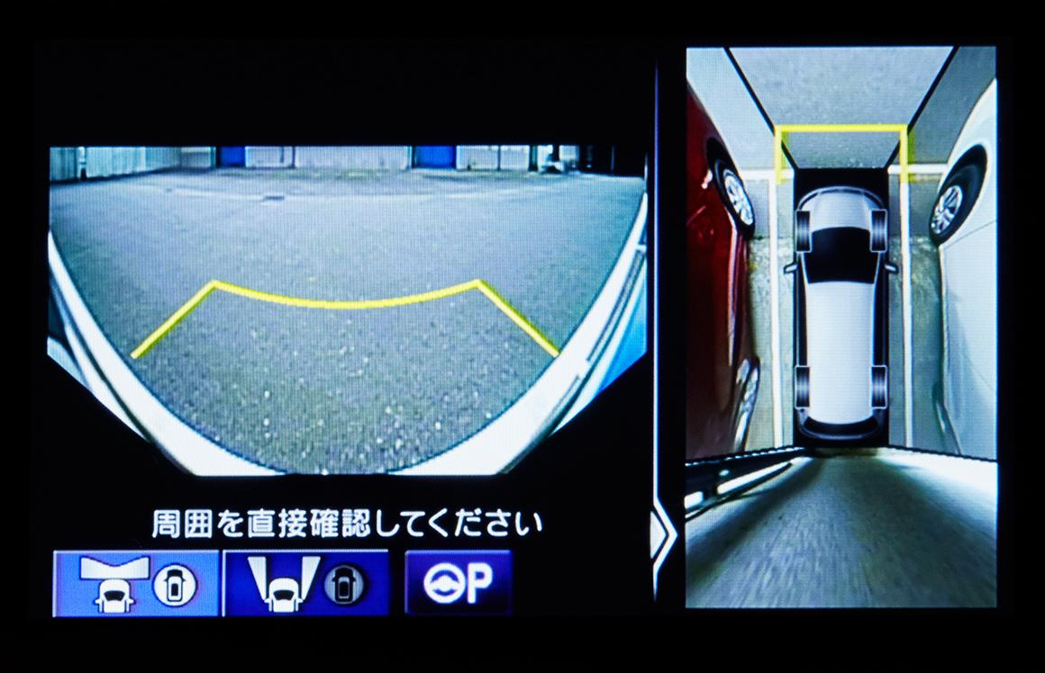 ステップワゴン_マルチビューカメラシステム