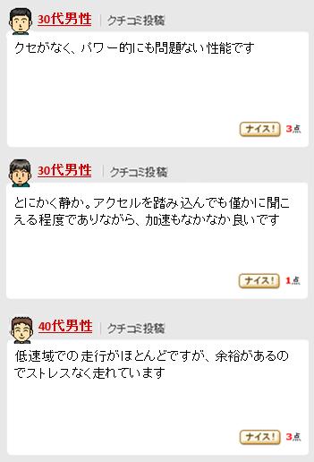 ヴォクシー煌_エンジン口コミ