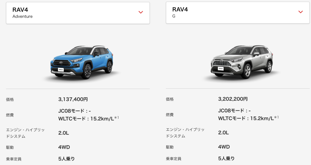 RAV4_候補